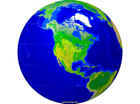 primap world maps