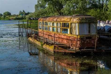 legend boats for sale in bc abandoned river tram on the desna river 183 ukraine travel blog