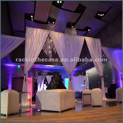 podium drape wedding stage stand stage backdrop pipe and drape buy
