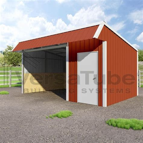 Metal Loafing Shed by Single Slope Loafing Shed 12 X 18 X 10 8 Barn Or