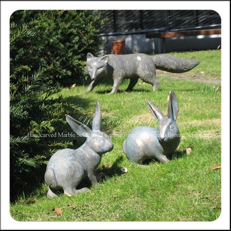 garden animal statues garden animal sculptures black