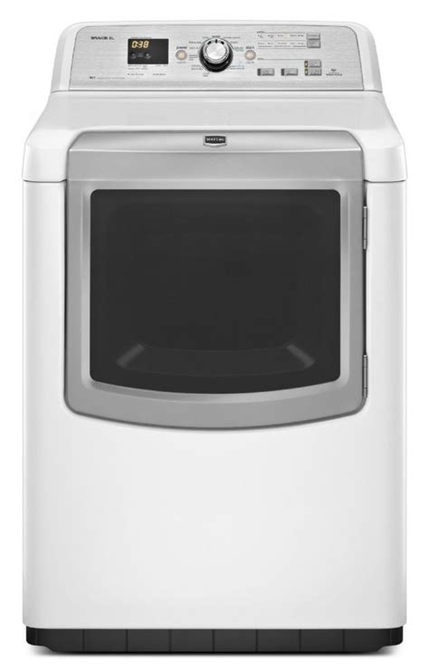maytag he top load gas dryer 7 0 cu ft mgdb880bw the home depot canada