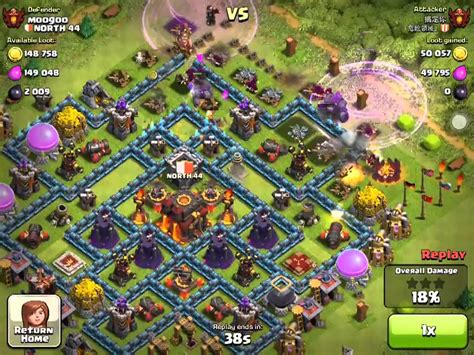 clash of clans best player clash of clan top player dangerous vs north44 youtube