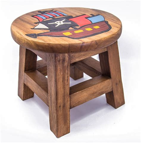 childrens step stool designs children s wooden step or stool pirate ship design