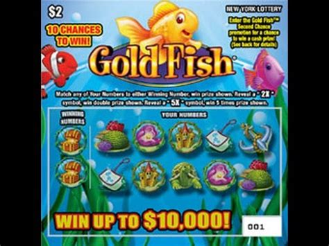 My Opinions Instant Win - 2 goldfish lottery bengal scratching scratch off