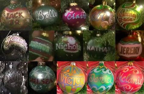 quot days of our lives quot horton ornaments