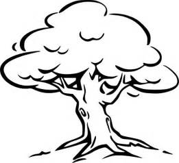 tree outline image clipart best