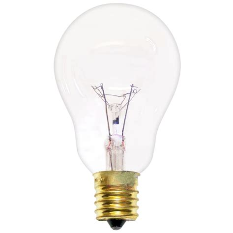 60a15 e17 cl130 a15 clear appliance bulb