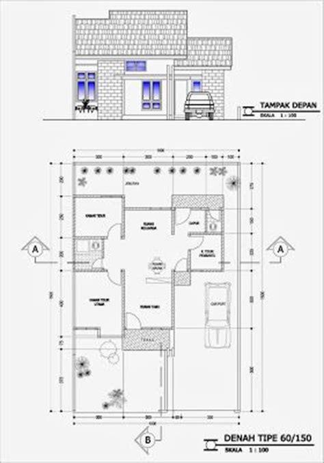 denah rumah minimalis house