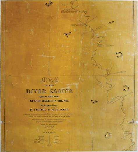sabine river texas map map of sabine river texas