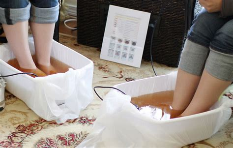 Ionic Foot Detox Spa Treatment by Aqua Ionic Foot Spa European Rejuvenation Center