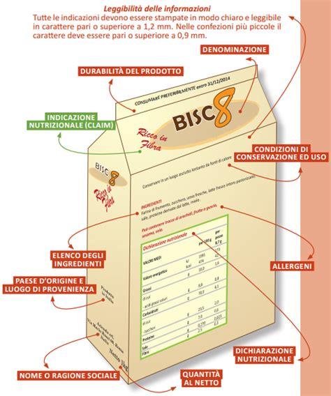 etichetta alimenti etichettatura degli alimenti come leggerla e cosa deve