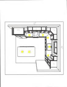 Kitchen Lighting Layout Kitchen Recessed Lighting Layout