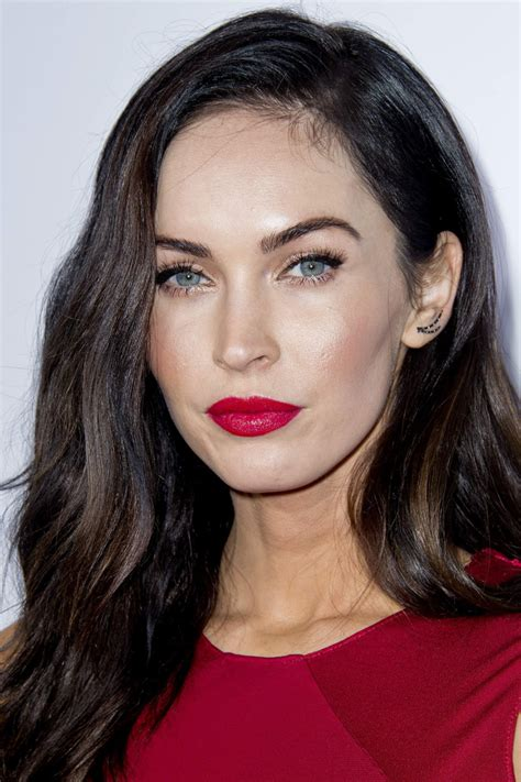 Megan Boone Forehead Scars | megan fox before and after beautyeditor