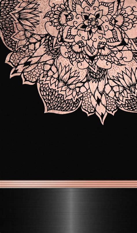 black  rose gold rose gold gold wallpaper phone