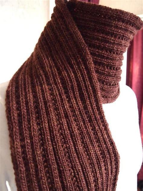 25 best knit scarf patterns ideas on knitting