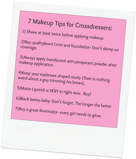 7 Makeup Tips For by 7 Top Make Up Tips For Crossdressers Boutique