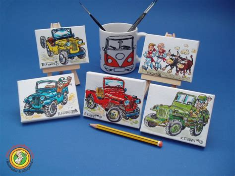 jeep painting canvas 15 best mini canvas paintings images on canvas