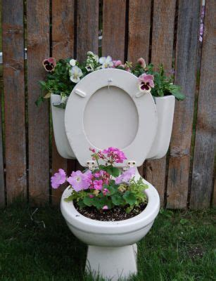 Potty Planters by Commonplace Hillbilly Lawn Ornaments