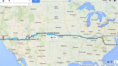 us best road trip map a is for adventure united states cross country road trip
