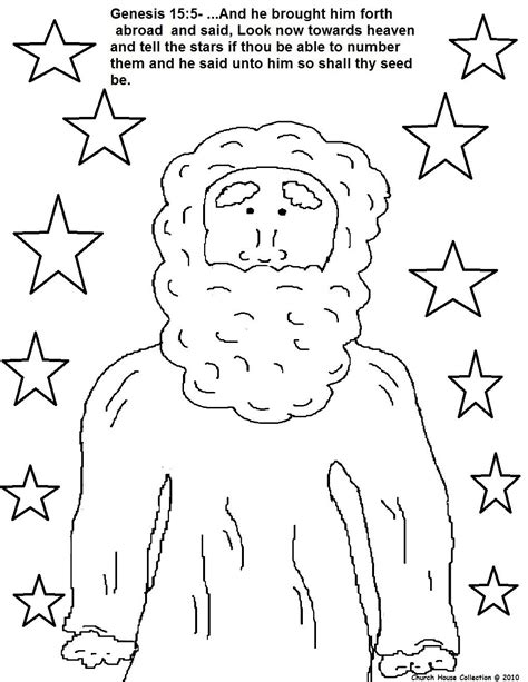 abraham covenant coloring page lesson 6 quot god makes a covenant with abram and gives him
