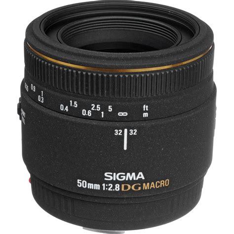 Sigma 50mm sigma 50mm f 2 8 ex dg macro autofocus lens for canon eos 346101