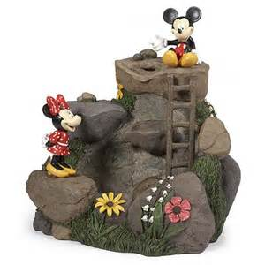 Backyard Fountains For Sale Your Wdw Store Disney Water Fountain Mickey And Minnie