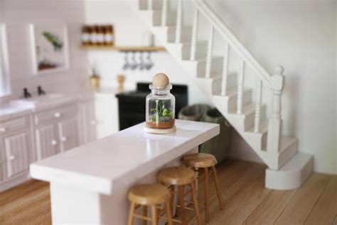 miniature dollhouse kitchen furniture 2018 this handmade dollhouse will your mind front