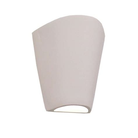 Paintable Wall Sconces filament design daniel paintable bisque ceramic outdoor wall sconce cli edg807310 the home depot