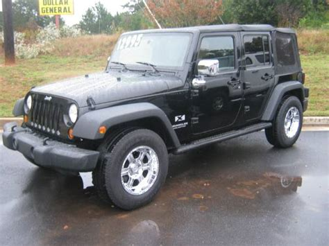 Jeep For Sale In Ga 2007 Jeep Wrangler Unlimited For Sale In Conyers
