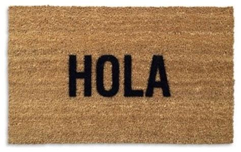 hola for better hola doormat contemporary doormats by better living