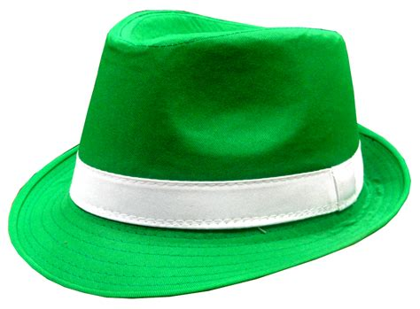 green hats st s day green fedora hat