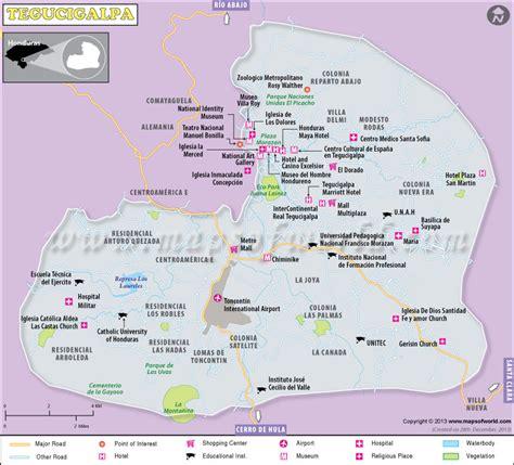area code from us to honduras tegucigalpa map capital of honduras
