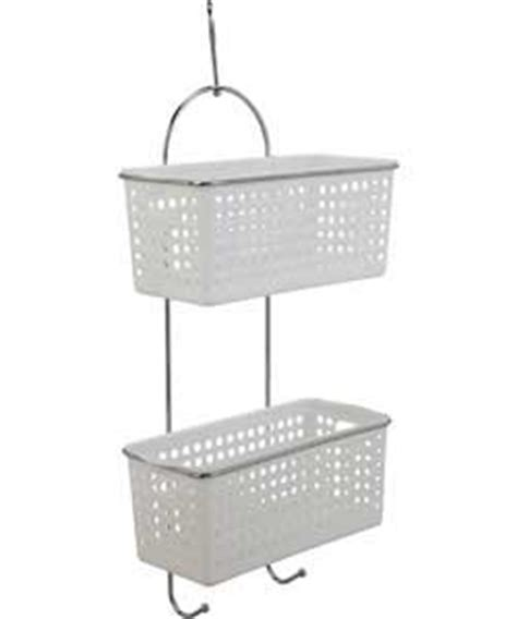 hanging baskets for bathroom attractive space saving 2 tier hanging basket caddy
