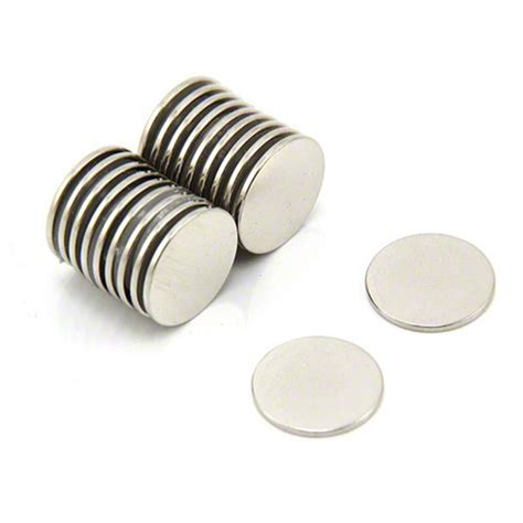 1 Pack Magnet Hitam 15 Mm 15mm dia x 1mm thick n42 neodymium magnet 1kg pull first4magnets