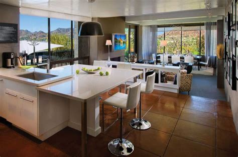 cuisine living stylish open concept kitchen dining and living room