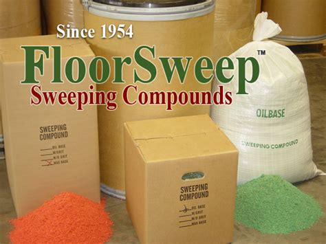 floorsweep floor sweeping compound made sold by