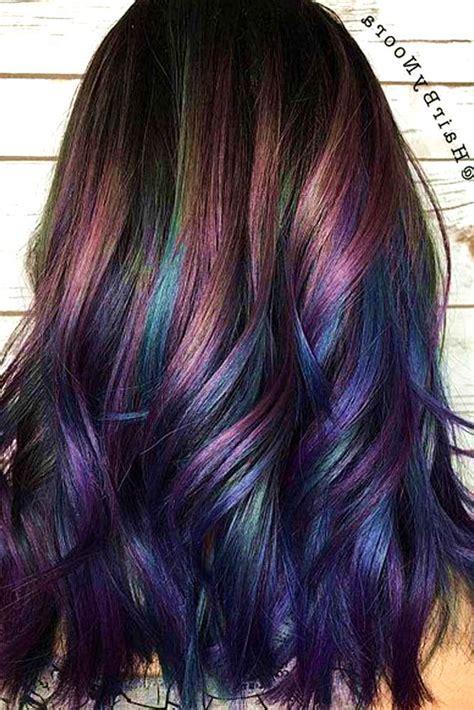 subtle hair color best 25 subtle purple hair ideas on violet