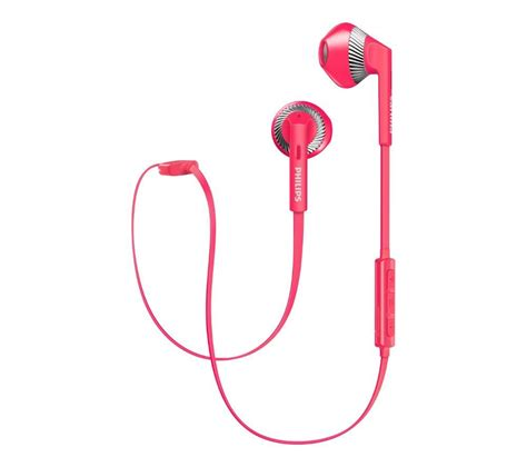 Philips X55p Pink Laptop by Buy Philips Shb5250pk Wireless Bluetooth Headphones Pink