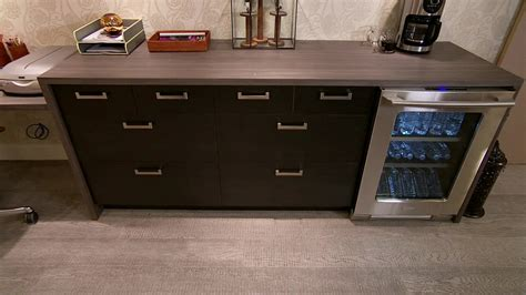 office bar home office bar fridge video hgtv olive crown