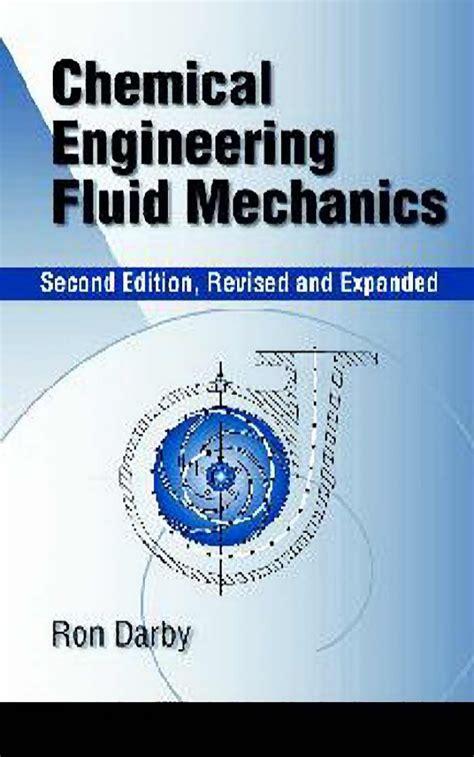 design experiment for fluid mechanics chemical engineering fluid mechanics