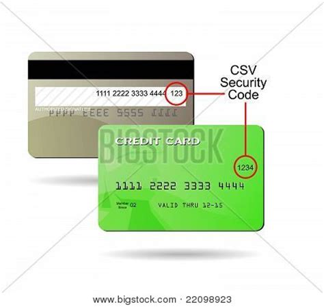 generic credit card security policy template generic credit card csv security code location stock