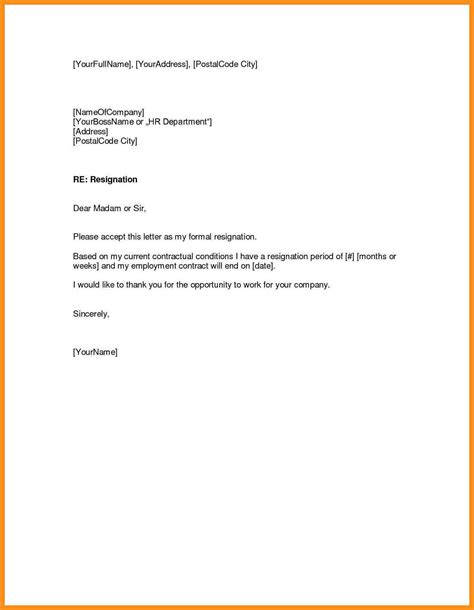 letter of notice to employer uk template 10 work notice letter agenda exle