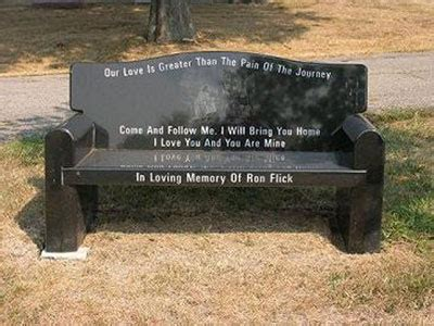 how to get a memorial bench memorial benches fram monument