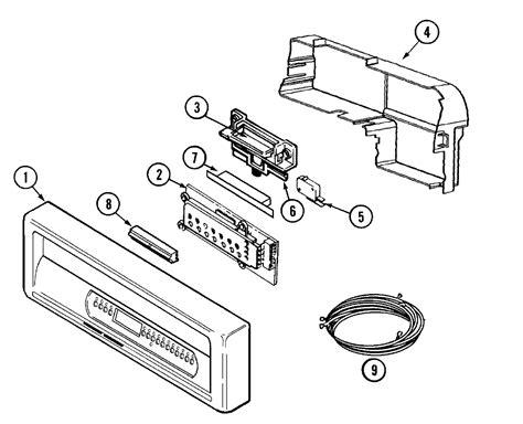maytag dishwasher parts diagram maytag maytag dishwasher parts model mdb7100aww sears