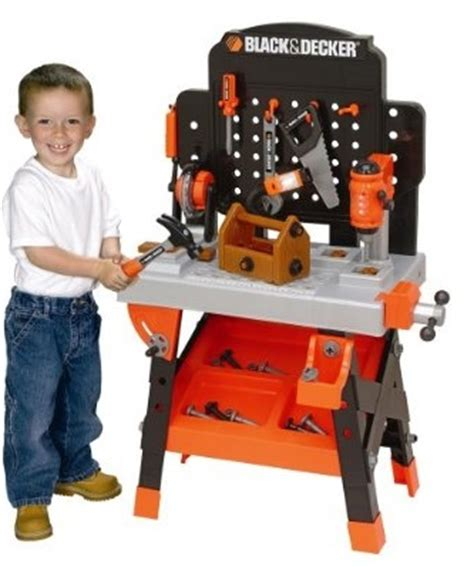 black and decker toy tool bench black and decker toy workbench tools 35 shipped my