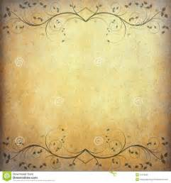 Vintage Sheet Background by Paper Background With Vintage Flower From