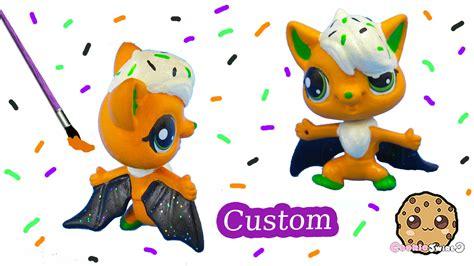 diy puppy shoo diy littlest pet shop custom cupcake inspired lps bat painted craft