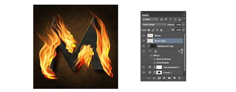 use pattern photoshop cc how to create stunning flaming text effect in photoshop cc