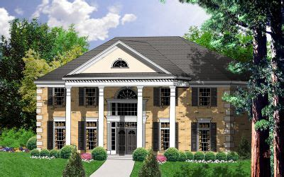 Colonial Garage Plans by Southern Colonial Style House Plans 3140 Square Foot
